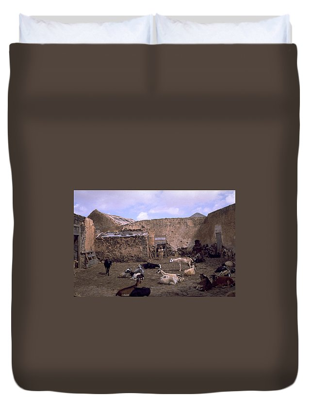 Fuerteventura Duvet Cover featuring the photograph Fuerteventura IIi by Flavia Westerwelle