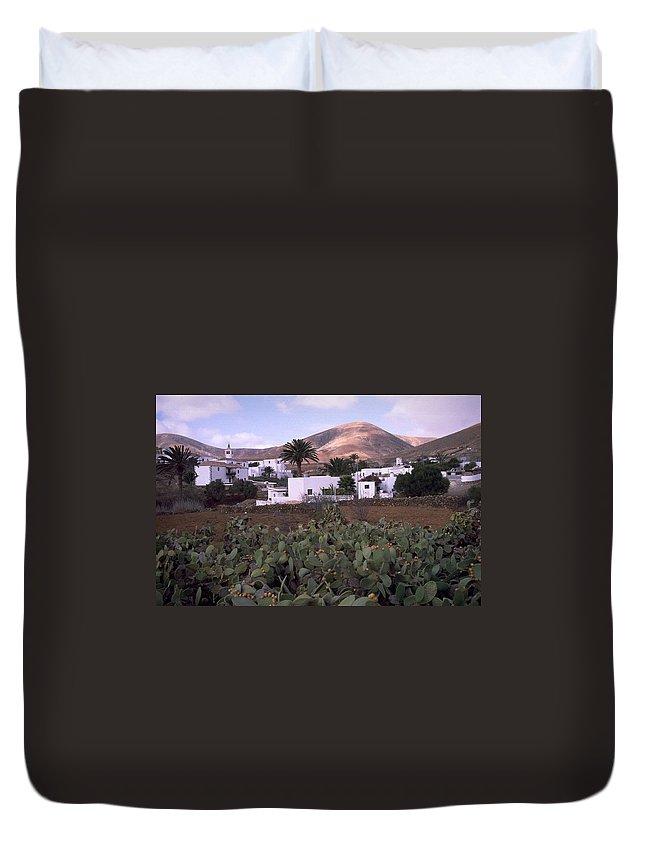 Fuerteventura Duvet Cover featuring the photograph Fuerteventura Iv by Flavia Westerwelle