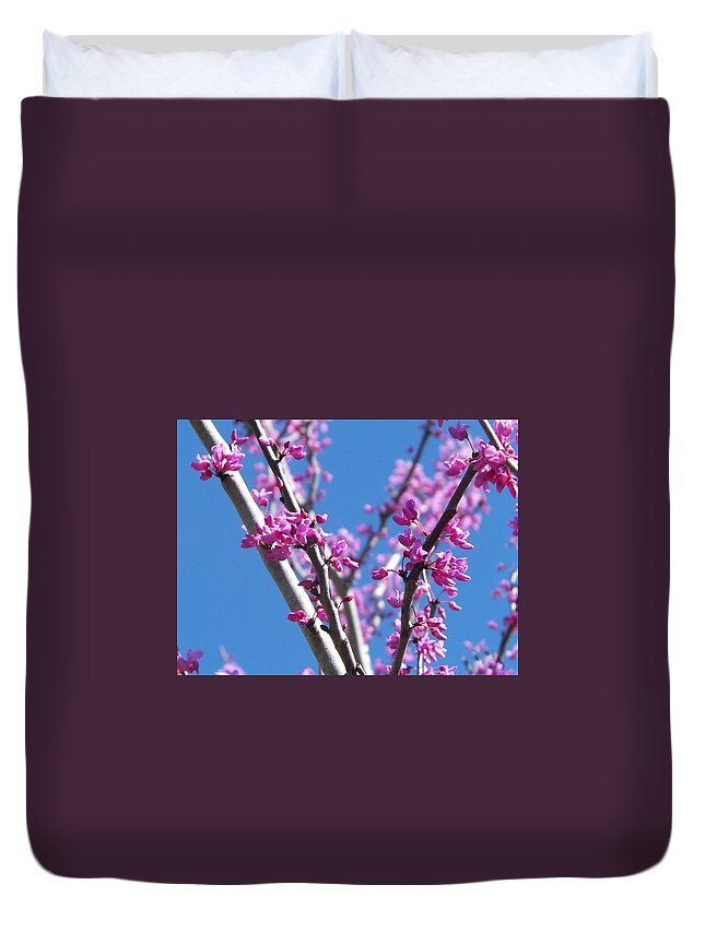 Pink Duvet Cover featuring the photograph Full Pink by Talisha Bland