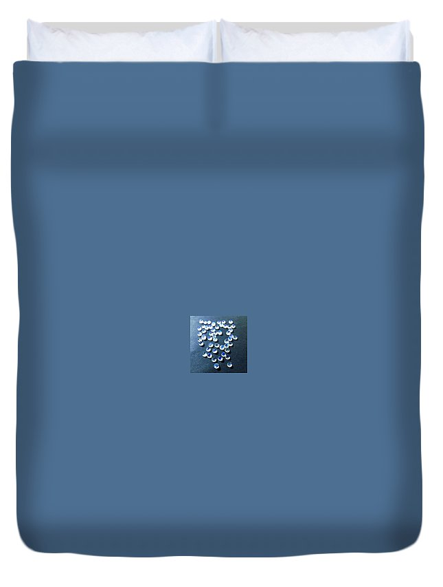 Rainbow Moonstone Duvet Cover featuring the photograph Gemstone And Jewellery by Dashrath International