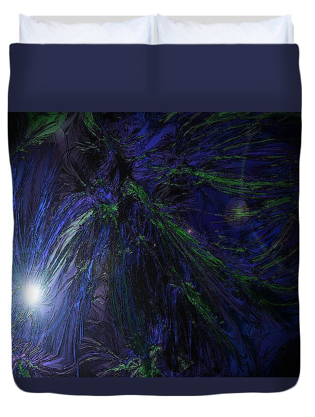 Creation Duvet Cover featuring the photograph Genesis One Nine by Mykel Davis