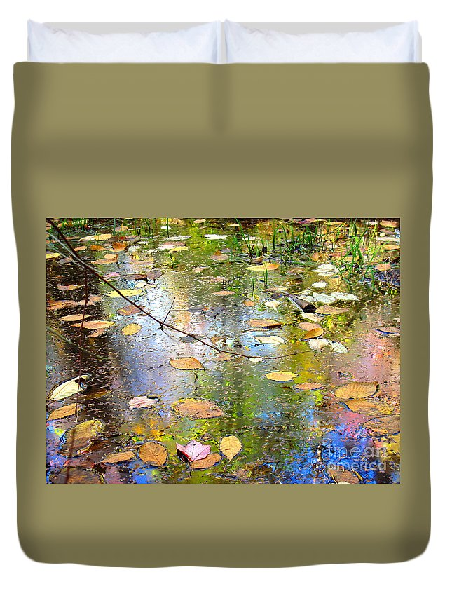 Water Duvet Cover featuring the photograph Gentle Nature by Sybil Staples