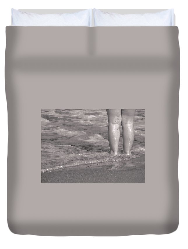 Water Duvet Cover featuring the photograph Get Your Feet Wet by JAMART Photography