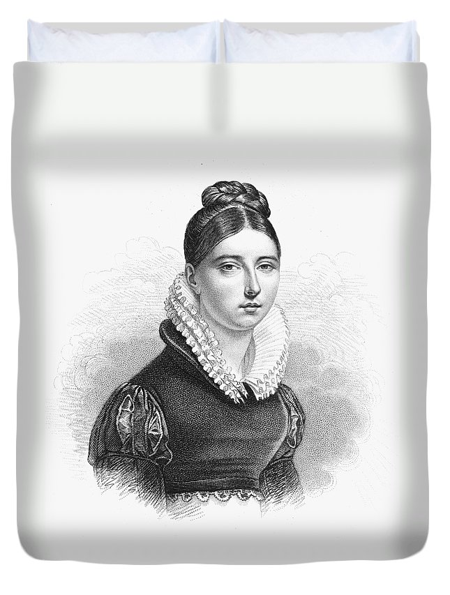 1824 Duvet Cover featuring the photograph Giuditta Pasta (1798-1865) by Granger