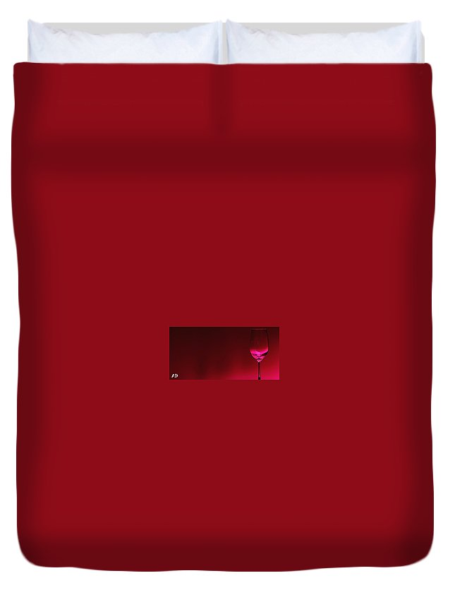Wine Digital Art Duvet Covers
