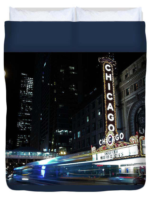 Duvet Cover featuring the photograph GO. by Eli Harris