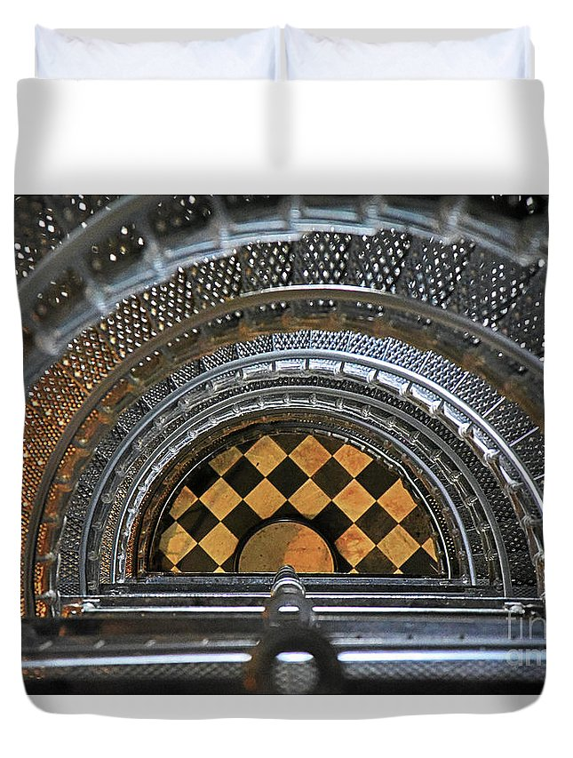 North Florida Duvet Cover featuring the photograph Going Down by Rick Bravo
