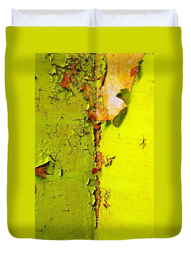 Skip Hunt Duvet Cover featuring the photograph Going Green by Skip Hunt