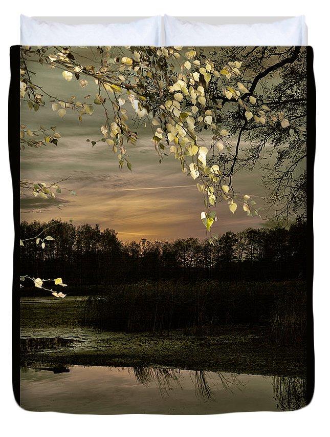 Autumn Duvet Cover featuring the photograph Golden Autumn by Steffen Krahl