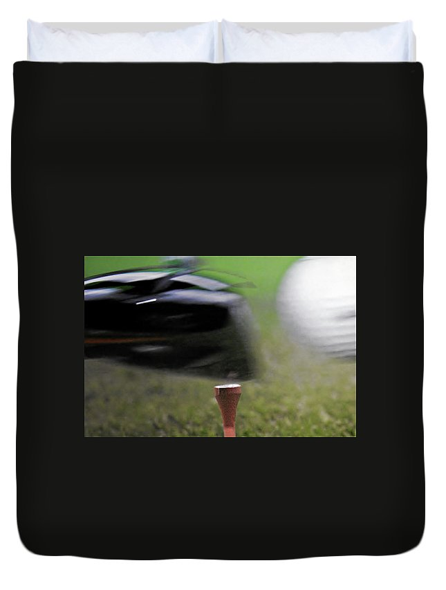 Golf Duvet Cover featuring the photograph Golf Sport Or Game by Christine Till