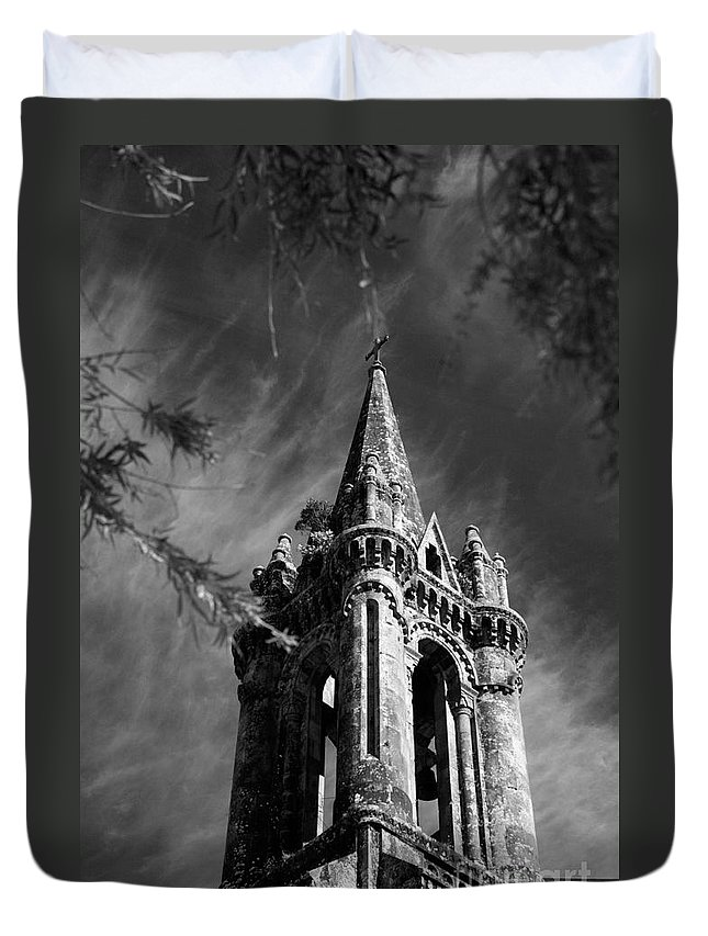 Azores Duvet Cover featuring the photograph Gothic Style by Gaspar Avila