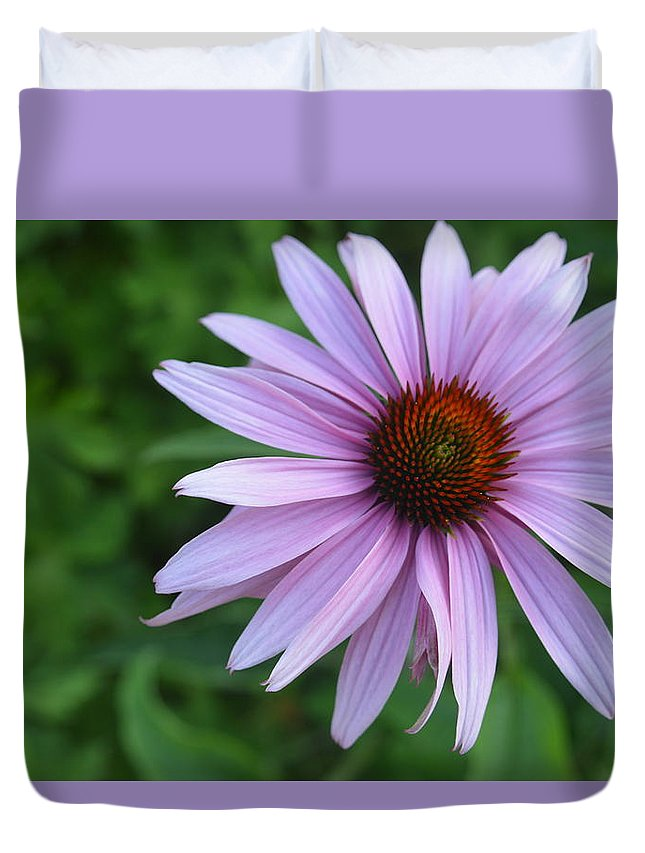 Purple Duvet Cover featuring the photograph Grace by Tim Votapka