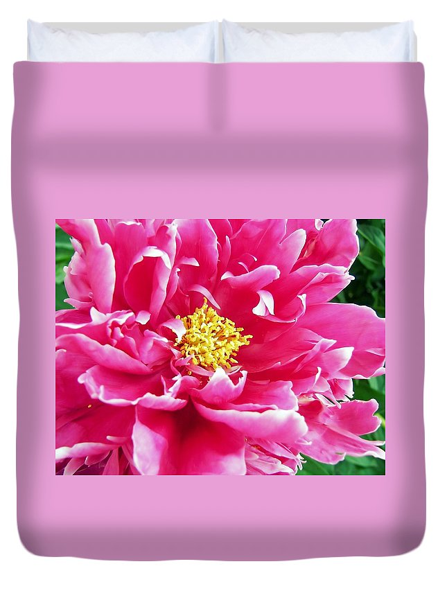 Flower Duvet Cover featuring the photograph Gram by JAMART Photography