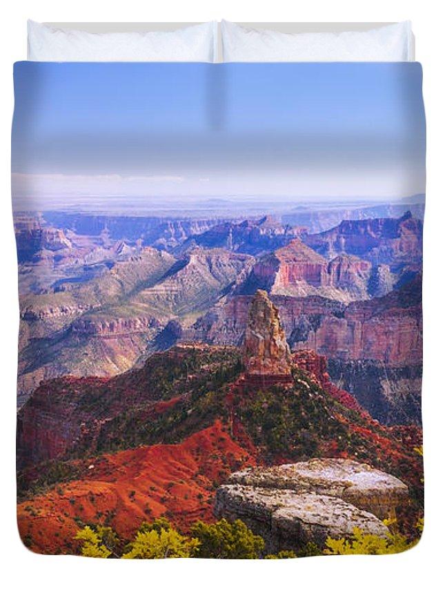 Grand Arizona Duvet Cover featuring the photograph Grand Arizona by Chad Dutson