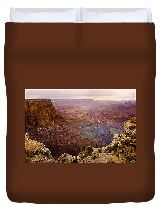 Grand Canyon Duvet Cover featuring the photograph Grand Canyon In The Spring by James BO Insogna