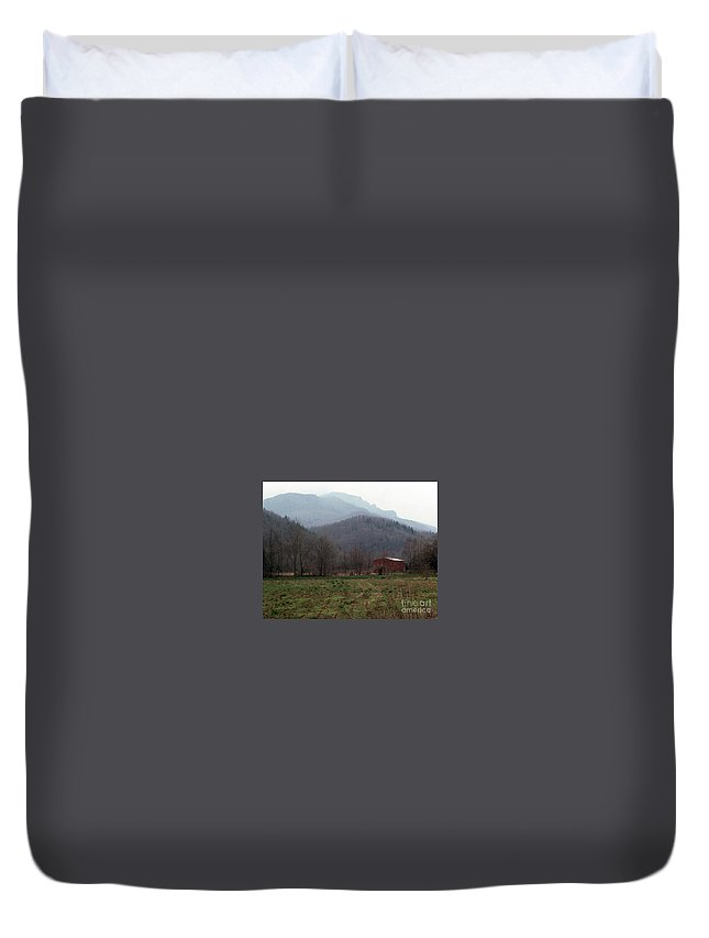 North Carolina Duvet Cover featuring the photograph Grandfather Mountain by Richard Rizzo