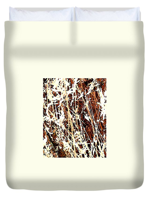 Grass Duvet Cover featuring the photograph Grass by Wayne Potrafka