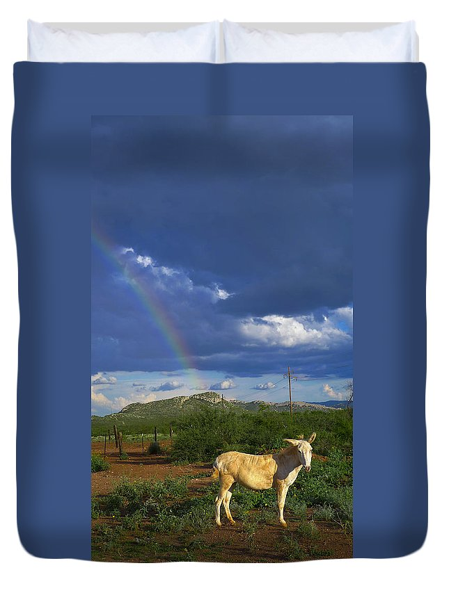 Guero Duvet Cover featuring the photograph Guero by Skip Hunt