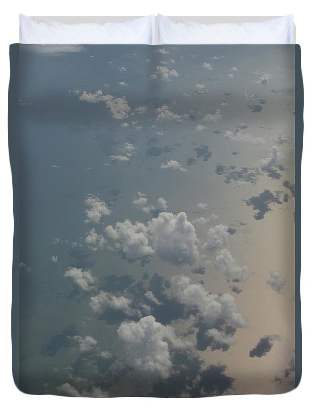Duvet Cover featuring the photograph Gulf by Kevin Cote