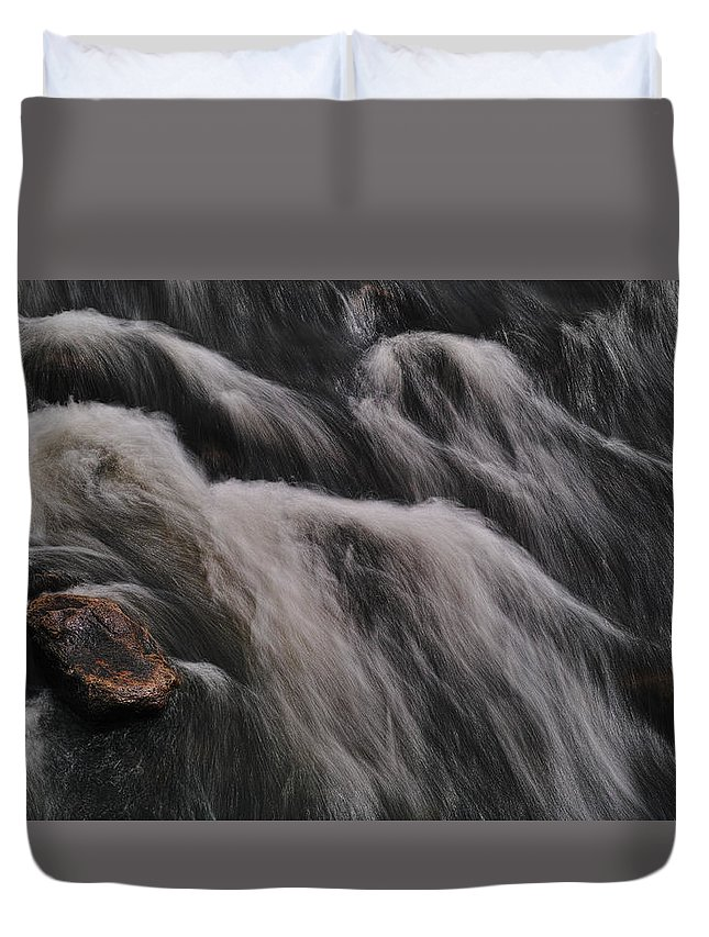 River Duvet Cover featuring the photograph Hairy River by Pekka Sammallahti