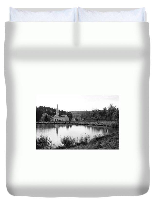 Farm Duvet Cover featuring the photograph Hale Farm by Kristin Elmquist