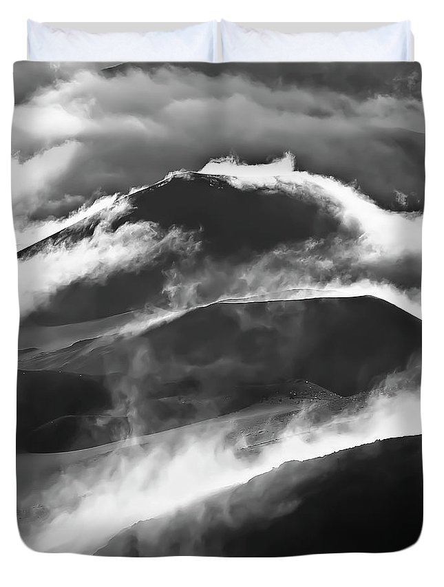 1st Place Duvet Cover featuring the photograph Maui Hawaii Haleakala National Park 1st Place State Open by Jim Cazel