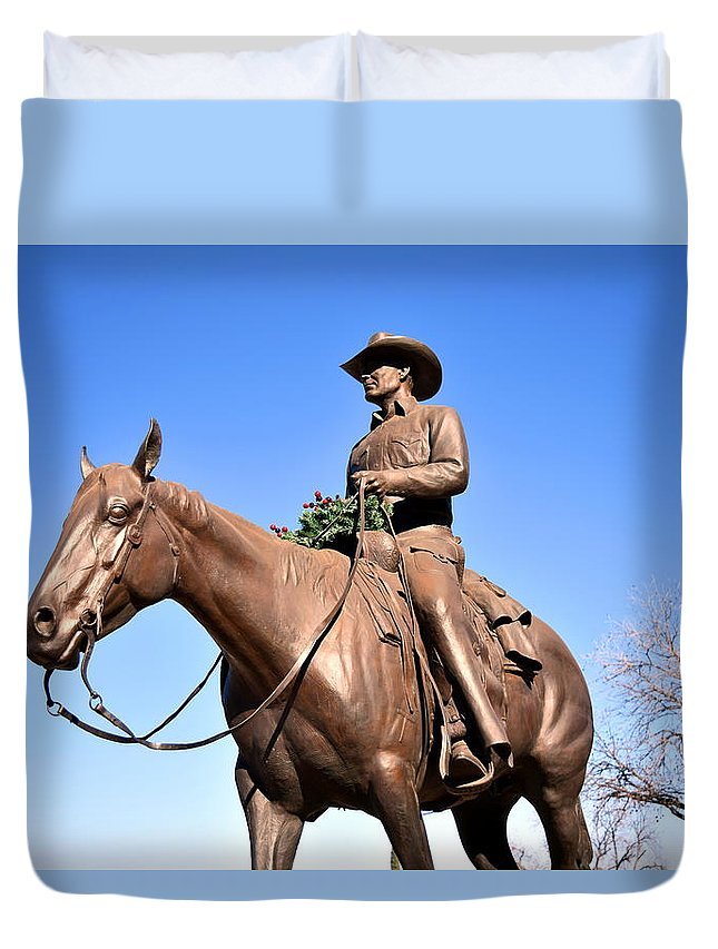 Southwest Duvet Cover featuring the photograph Haley by Ryon Atwood
