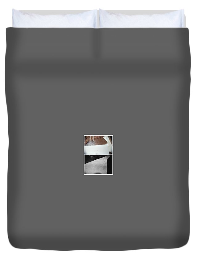 Abstract Duvet Cover featuring the photograph Hallelujah by Alwyn Glasgow