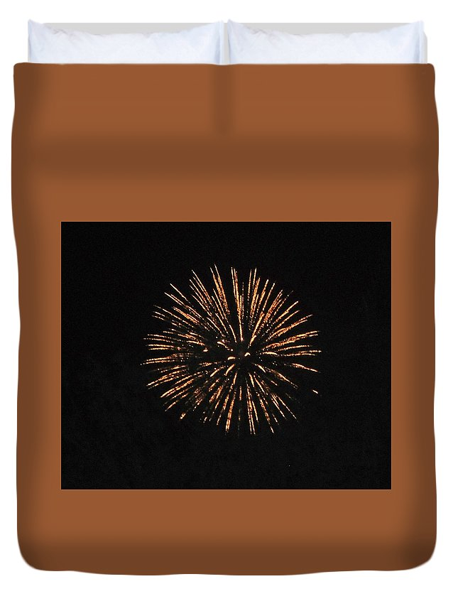 Color Duvet Cover featuring the photograph Happy 4th.from Palm Desert 4 by Jay Milo