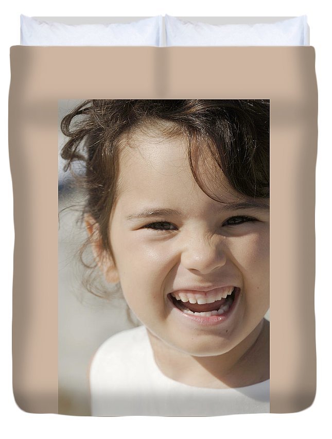 Happy Contest Duvet Cover featuring the photograph Happy Contest 10 by Jill Reger