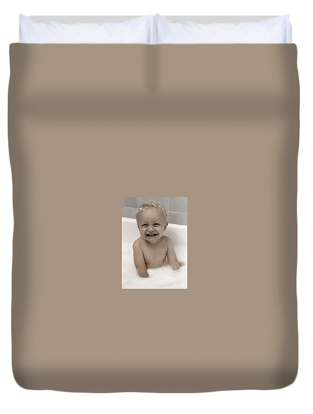 Happy Contest Duvet Cover featuring the photograph Happy Contest 14 by Jill Reger