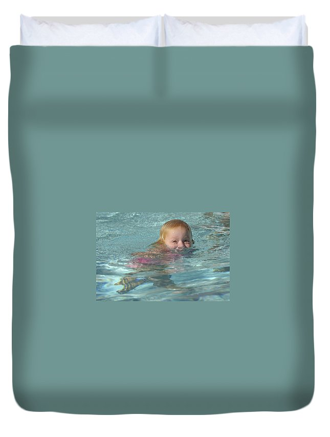 Happy Contest Duvet Cover featuring the photograph Happy Contest 4 by Jill Reger