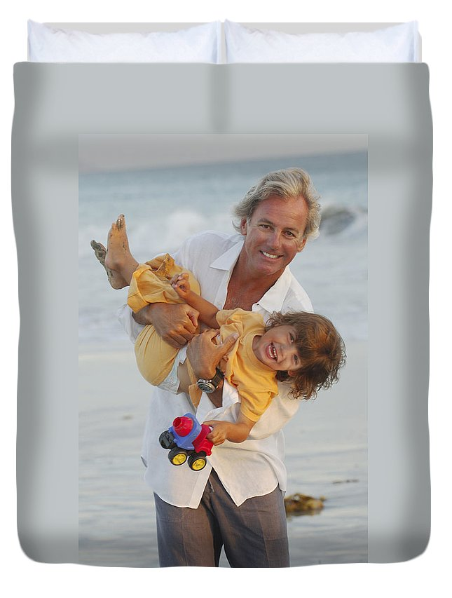Happy Contest Duvet Cover featuring the photograph Happy Contest 5 by Jill Reger