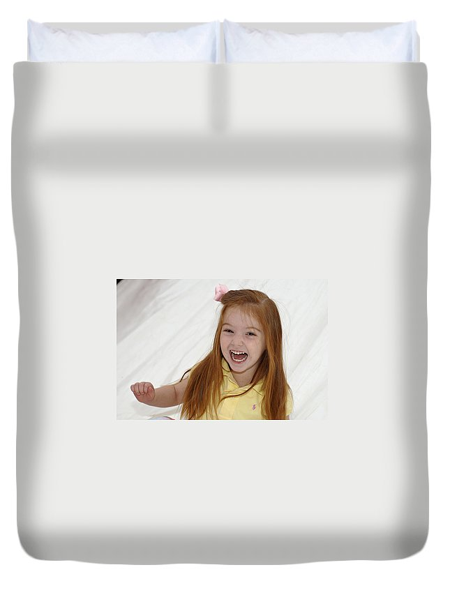 Happy Contest Duvet Cover featuring the photograph Happy Contest 6 by Jill Reger