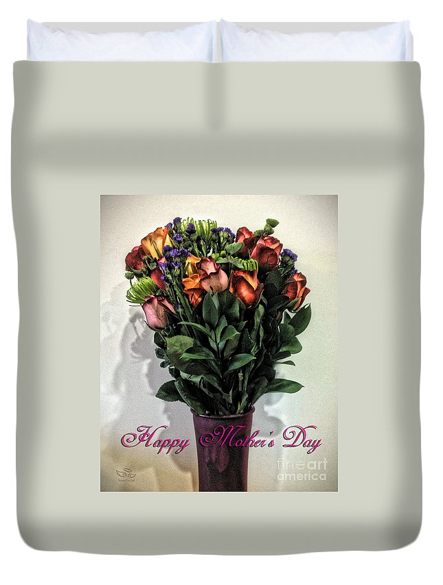 Happy Mother's Day Duvet Cover featuring the photograph Happy Mother's Day by Beauty For God