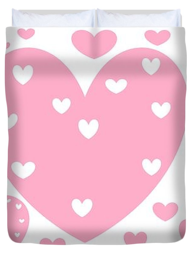 Happy Valentine S Day 16 Or Just Hearts Duvet Cover