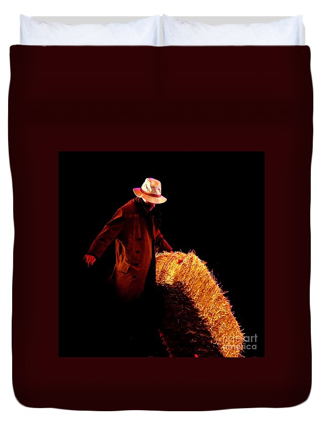 Clay Duvet Cover featuring the photograph Hard Work by Clayton Bruster