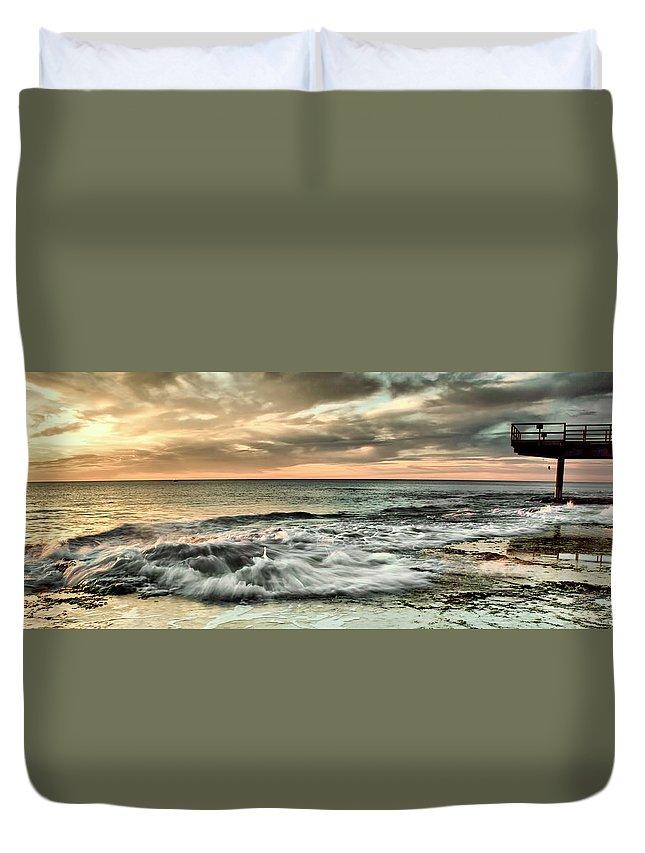 Ocean Duvet Cover featuring the photograph Harmony by Kym Clarke