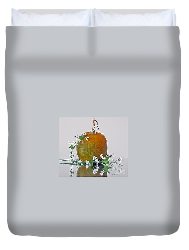Photography Duvet Cover featuring the photograph Harvest by Shelley Jones