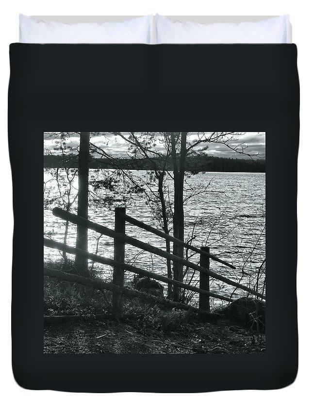 Lehtokukka Duvet Cover featuring the photograph Haukkajarvi by Jouko Lehto
