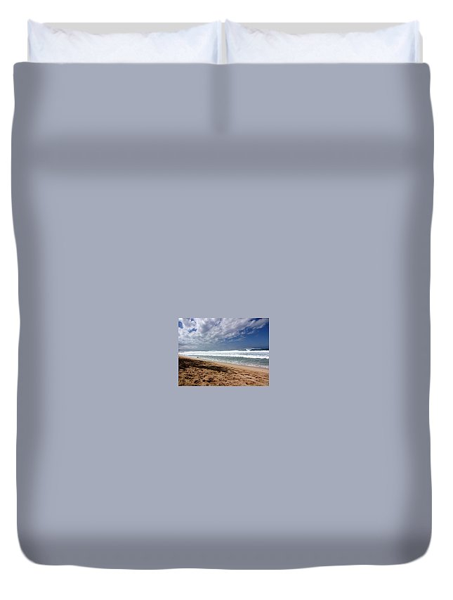 Hawaii Duvet Cover featuring the photograph Hawaii Northshore by Sarah Houser