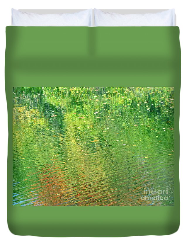 Water Duvet Cover featuring the photograph Healing In All Forms by Sybil Staples