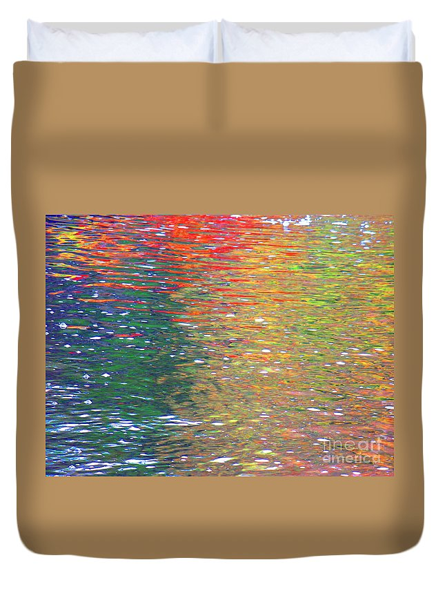 Water Art Duvet Cover featuring the photograph Healing Journey by Sybil Staples