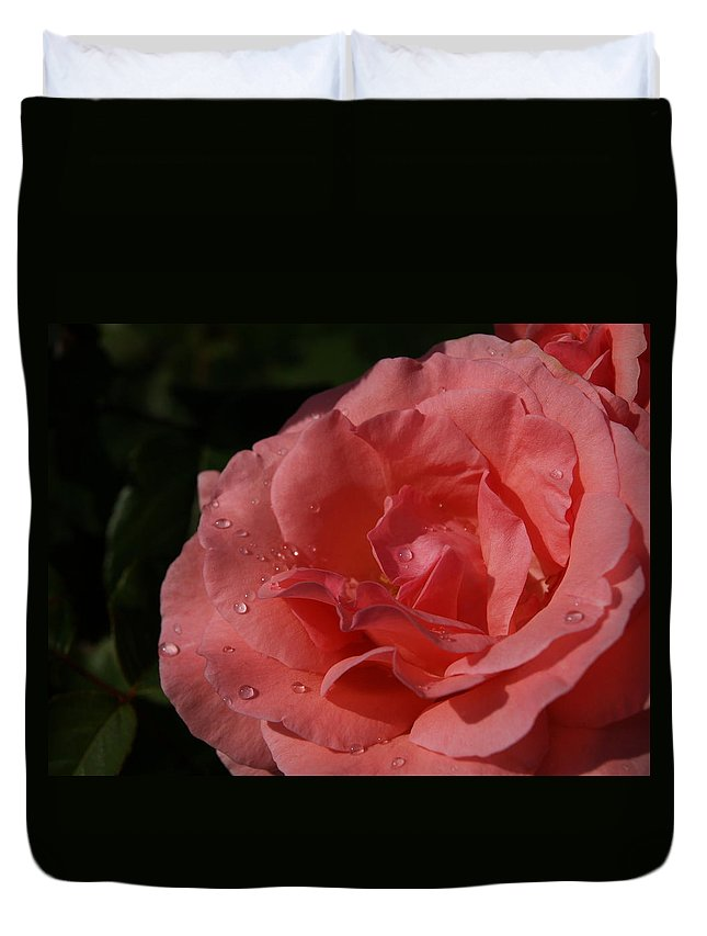 Rose Duvet Cover featuring the photograph Heart by Greg Moore