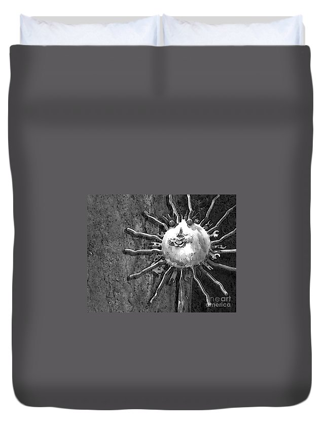 Sun Duvet Cover featuring the photograph Here Comes The Sun by Debbi Granruth