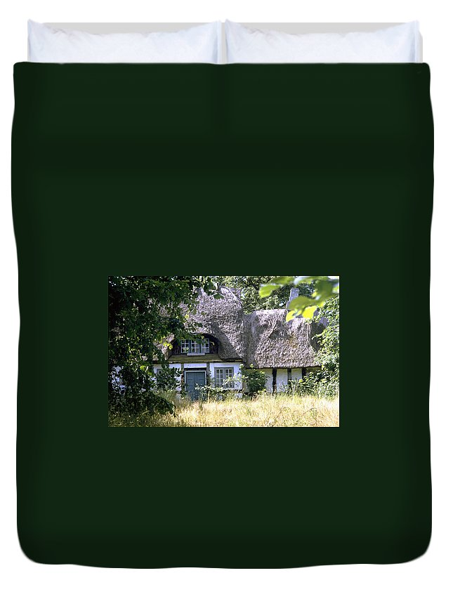 Denmark Duvet Cover featuring the photograph Hidden Beauty by Flavia Westerwelle