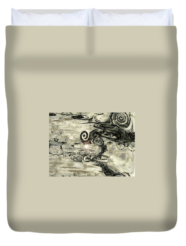 Hidden Dreams Art Duvet Cover featuring the digital art Hidden Dreams by Linda Sannuti