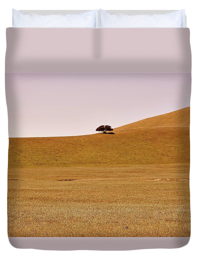 Highway 25 Duvet Cover featuring the photograph Highway 25 by Vincent Goetz