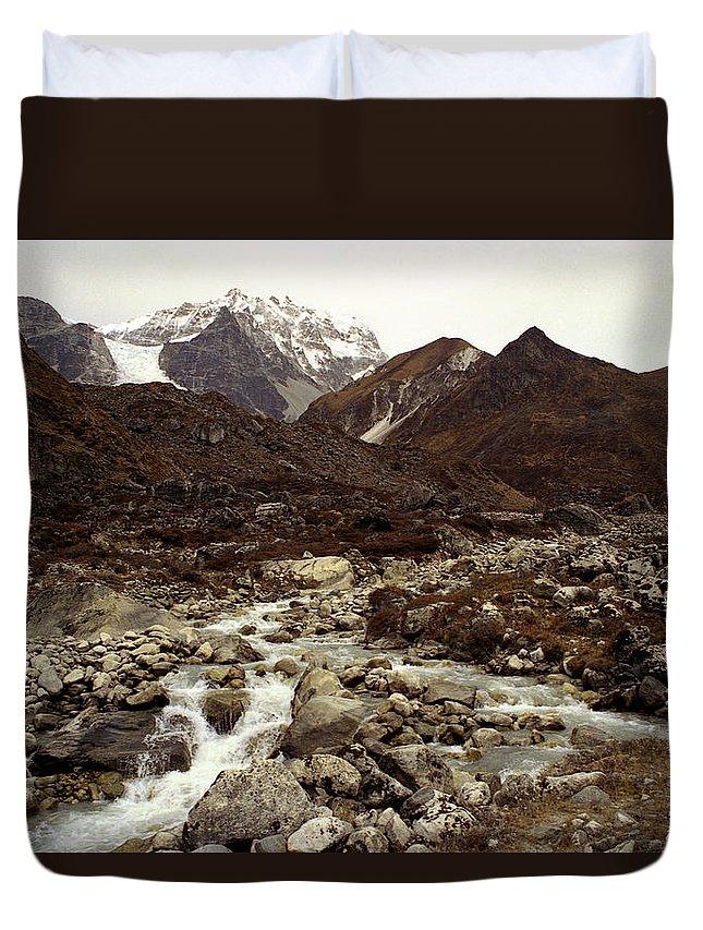 Himalaya Duvet Cover featuring the photograph Himalaya by Patrick Klauss