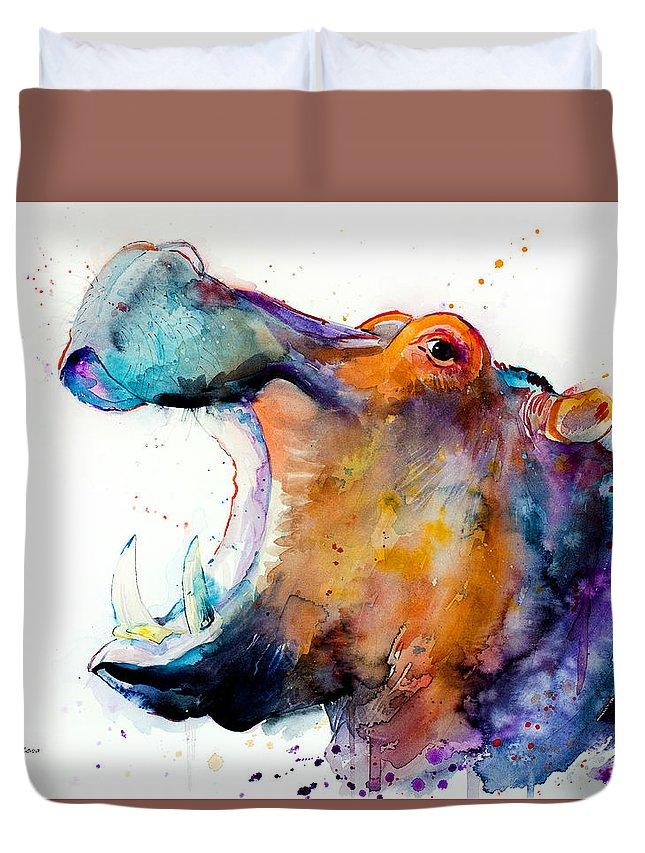 Hippopotamus Duvet Covers